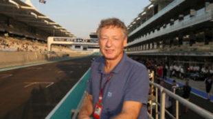 Hermann Tilke, arquitecto dise�ador del circuito de Yas Marina