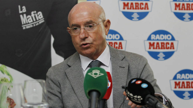 Serra Ferrer, en la tertulia de Radio MARCA Sevilla.
