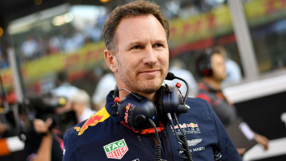 Christian Horner, director de Red Bull