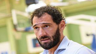 Jorge Garbajosa, ex jugador y actual Presidente de la Federación...