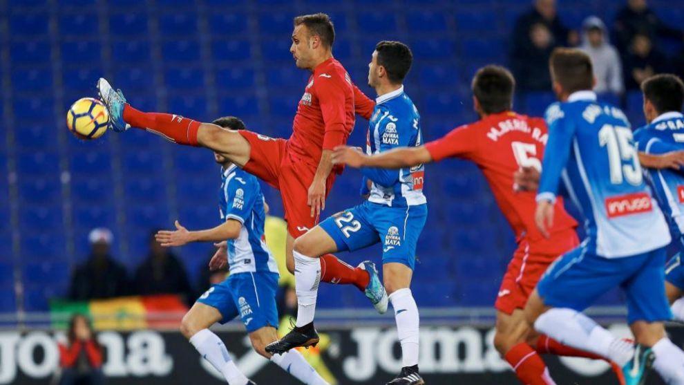 El Getafe buscó el empate hasta el final