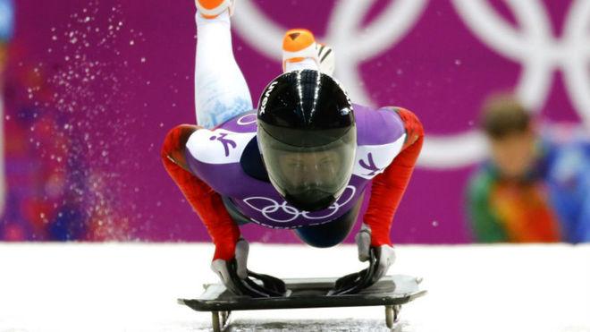 Maria Orlova, en los Juegos de Sochi.