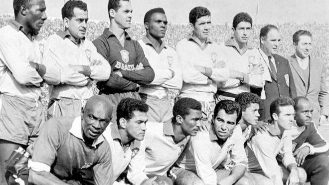 La selección de Brasil que se proclamó campeona del mundo en 1962.