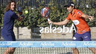 Puyol y Belasteguín, en la volea
