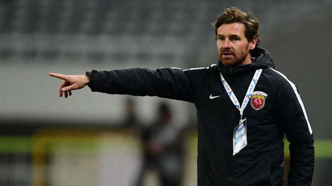 Villas-Boas, en su �ltima etapa como entrenador del Shanghai SIPG.