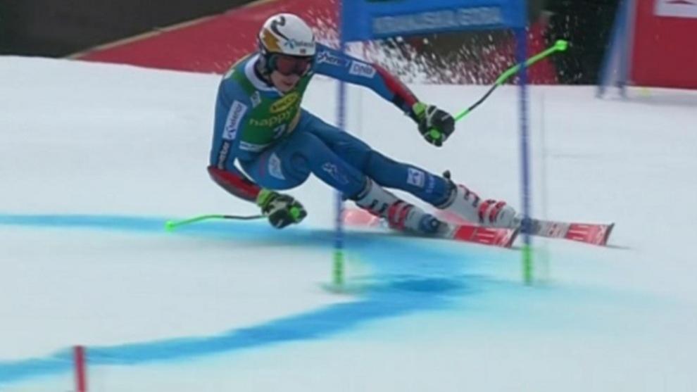 Los nuevos esquís de gigante masculino homologados por la FIS pasan...