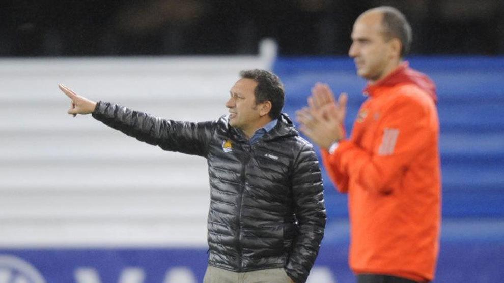 Eusebio, en el partido ante el Lleida