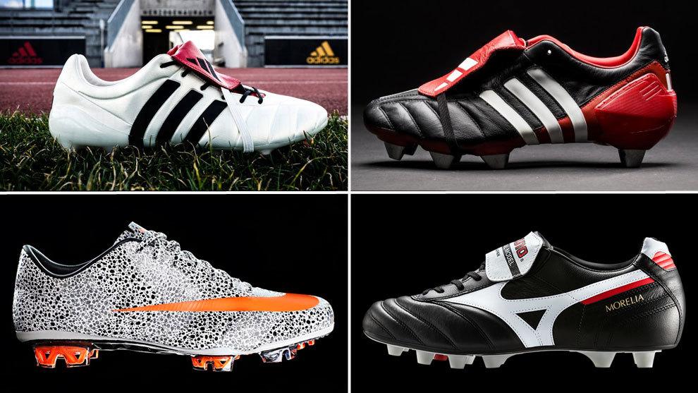 ¿Recuerdas qué jugadores llevaron estas míticas botas de fútbol? - Marca.com