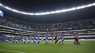 El Azteca no se llenó para la semifinal entre América y Tigres