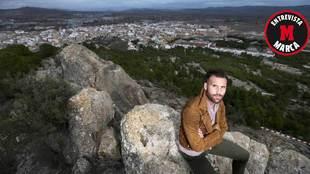 Ortuño posa para MARCA en Yecla, su pueblo natal, durante la...
