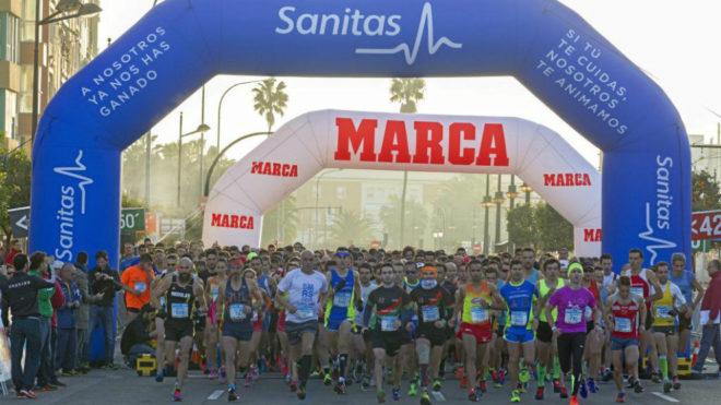 Salida de la Sanitas Marca Running Valencia.