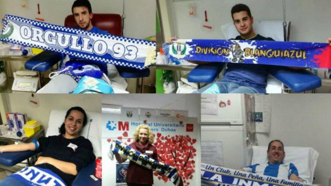XIII Maratón de Donación de Sangre del CD Leganés