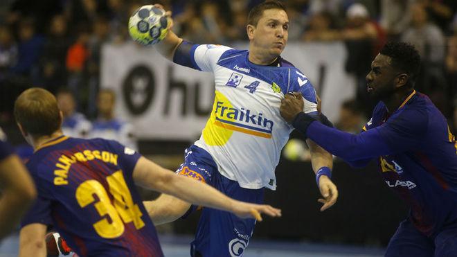 Bernatonis, en el reciente derbi liguero entre Granollers y Barcelona.