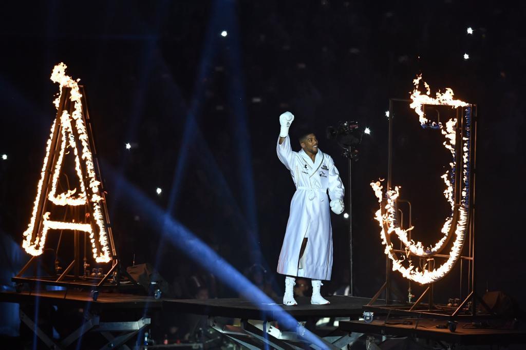 Joshua en Wembley.