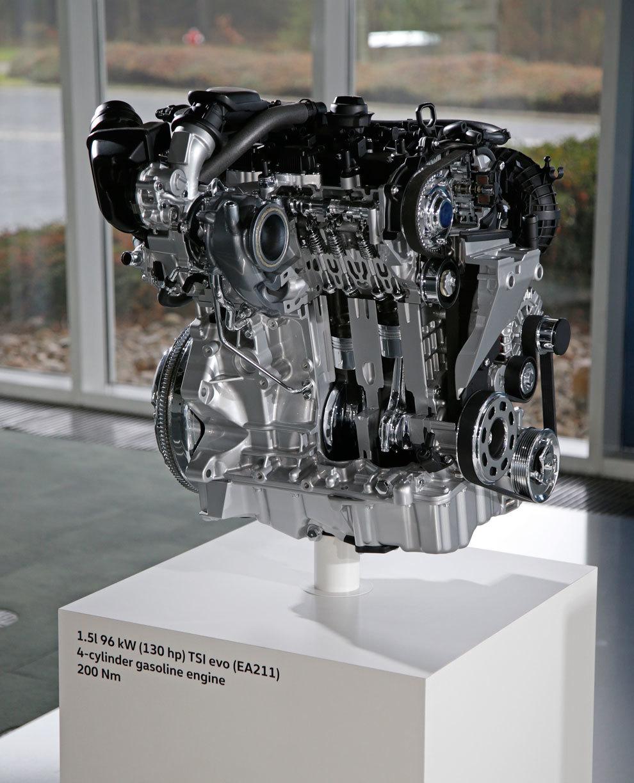 El 1.5 TSI Evo de 130 CV será la base de la futura gama de motores...