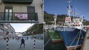 Fotos de Ondarroa, donde se cri� Kepa