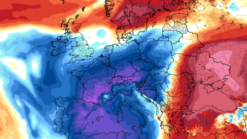 El frío polar dejará temperaturas más bajas de lo habitual en toda...