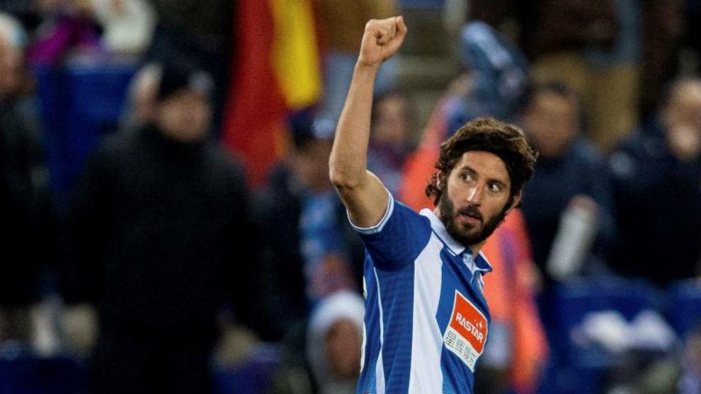 Granero celebra su gol contra el Tenerife en la Copa del Rey