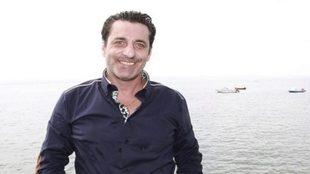 Paulo Futre posando para MARCA