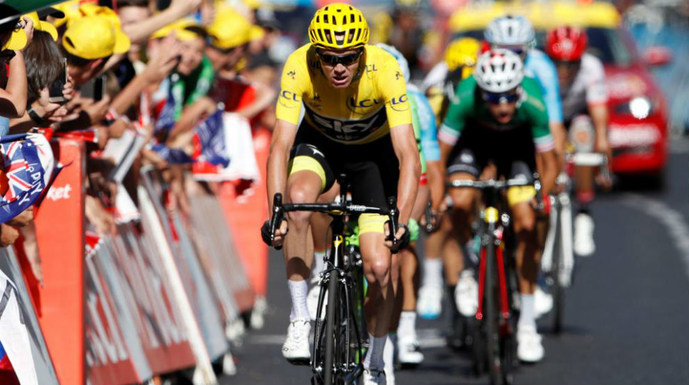 Froome cleared of doping by UCI ahead of Tour de France