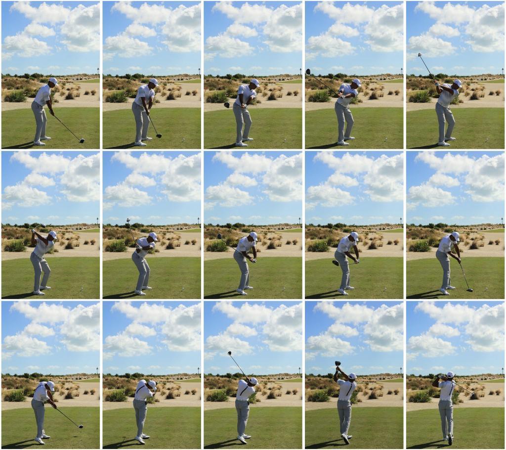 El swing de Tiger fotograma a fotograma.