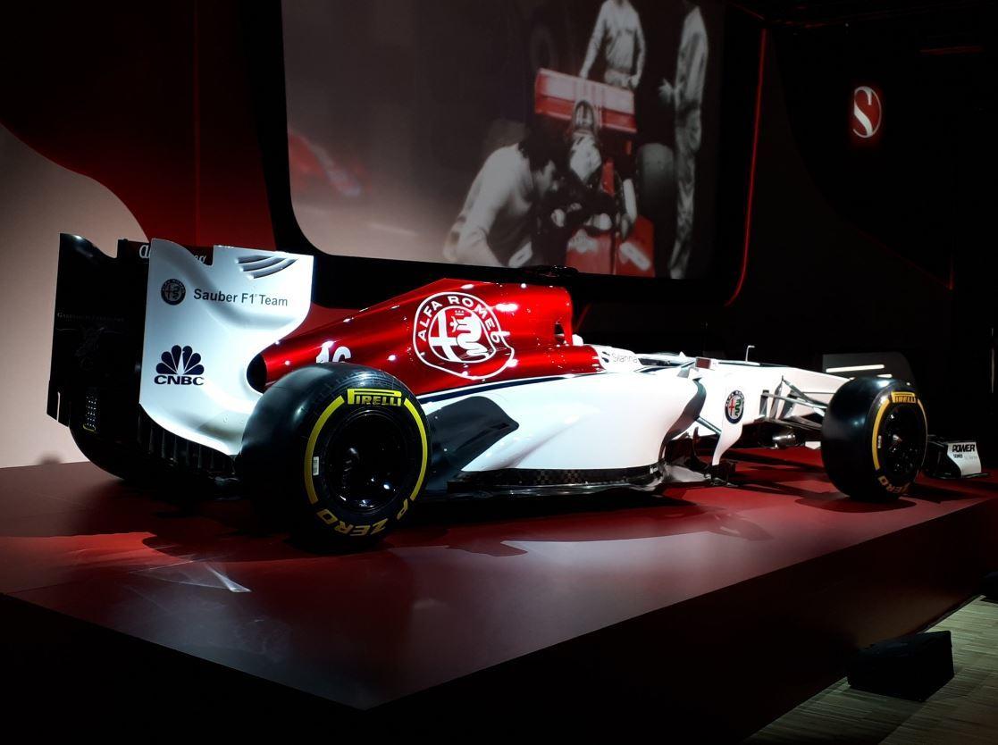 Marca Alfa Romeo regresa a la Fórmula 1