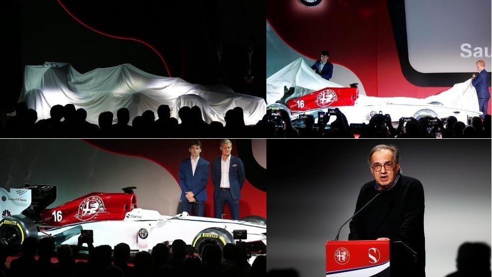 La presentación de Alfa Romeo Sauber F1 Tean