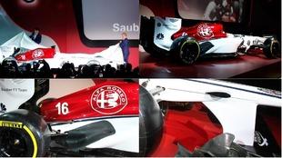 Los colores del nuevo Alfa Romeo Sauber