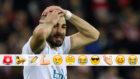 Benzema lamenta una ocasi�n contra el Athletic