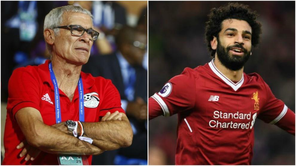 Cúper y Salah en una imagen de esta temporada.