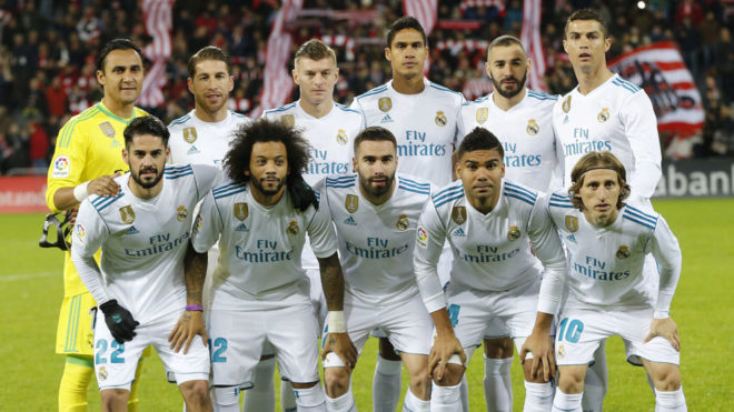 Real Madrid: Real Madrid player ratings vs Athletic Club ...