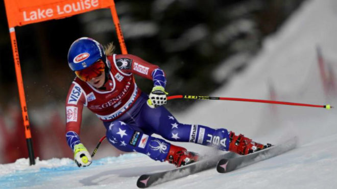 Shiffrin gets first World Cup downhill win at Lake Louise