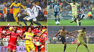 Tigres, Monterrey, Toluca y Pumas, los últimos verdugos del América...