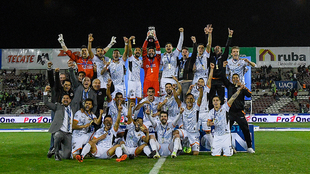 Gran festejo de Alebrijes tras el título ante Juárez FC