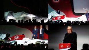 La presentaci�n de Alfa Romeo Sauber F1 Tean