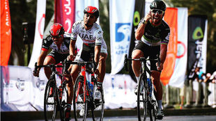 Mark Cavendish, vencedor en Al Ain.