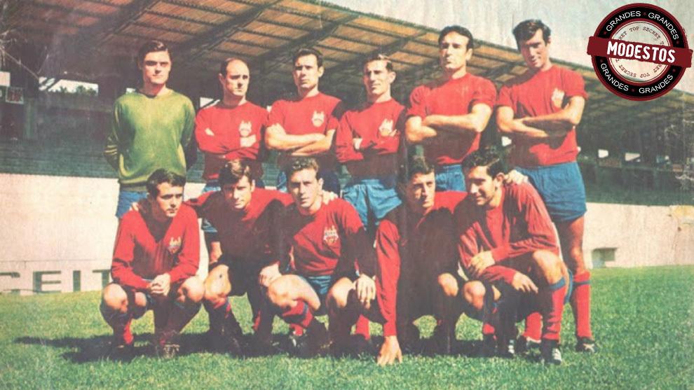 Plantilla del Pontevedra en la temporada 1967-68