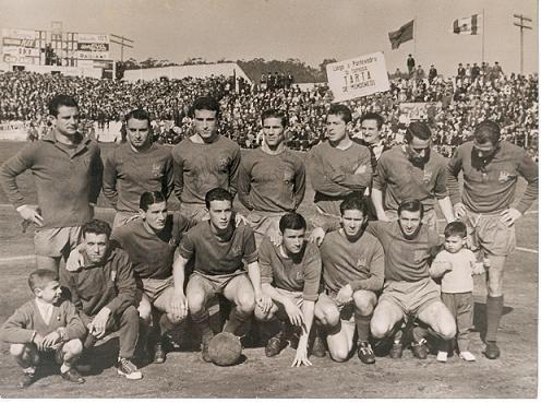 Equipo del Pontevedra en la 1962-63