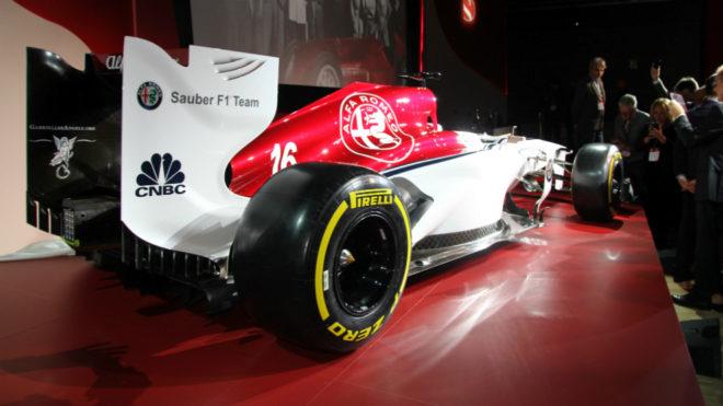 Así lucirá el 'Biscione' de Alfa Romeo en el Sauber de 2018.