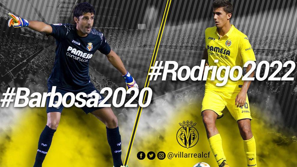 Mariano Barbosa y Rodrigo Hernández renuevan con el Villarreal.