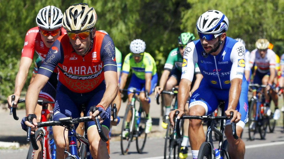 Nibali y Gaviria Ilario Biondi/Roberto Bettini - Prensa Vuelta a San...