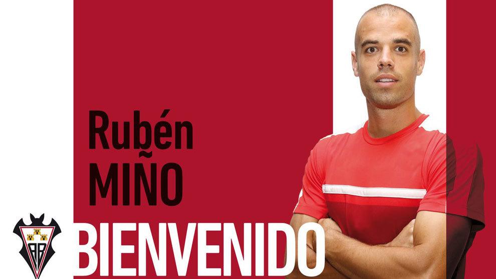 Rubén Miño, nuevo jugador del Albacete.