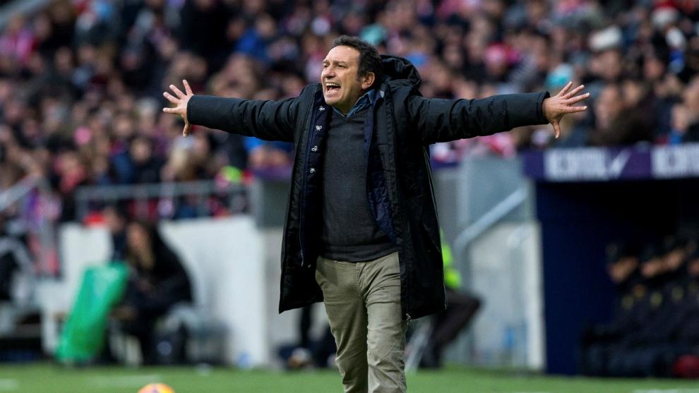 Eusebio, el pasado sábado en el Wanda Metropolitano