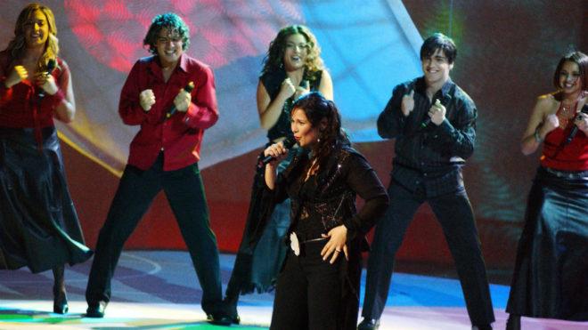 Rosa, representante de España en Eurovisión 2002
