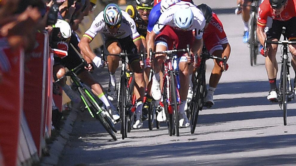 La UCI ha reconocido que no fue justa la expulsión de Peter Sagan por...