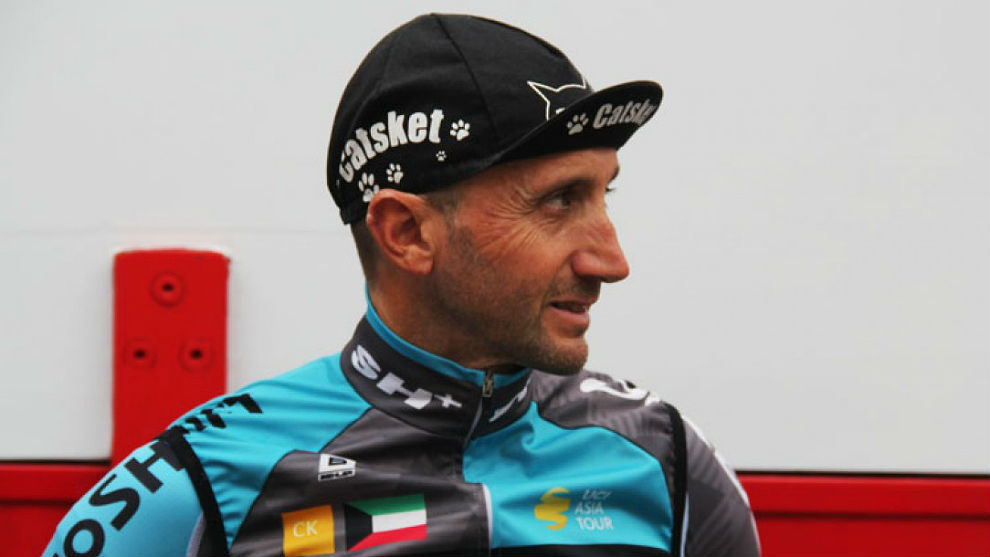 Davide Rebellin ha logrado tres victorias con el Kuwait-Cartucho.es