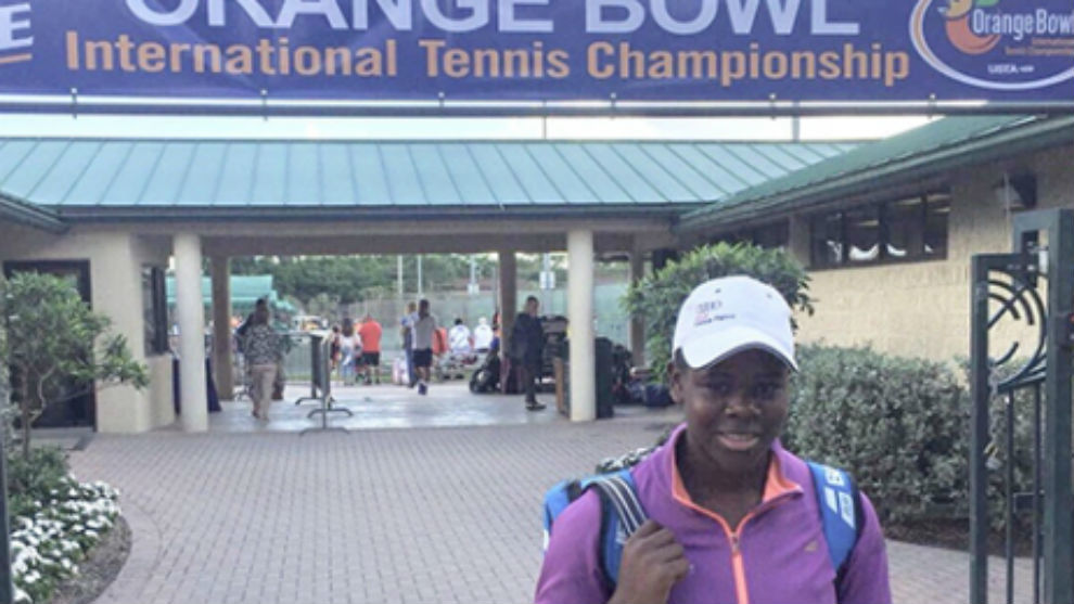 Dami Edibson, la promesa del tenis balear