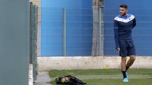 David López, en la Ciudad Deportiva.