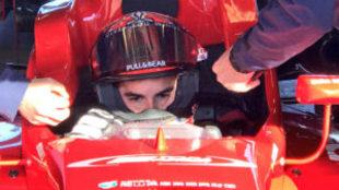 Marc Márquez, en el F3.
