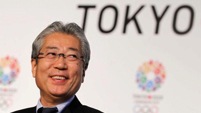 Futsunekazu Takeda, presidente del Comité Olímpico Japonés
